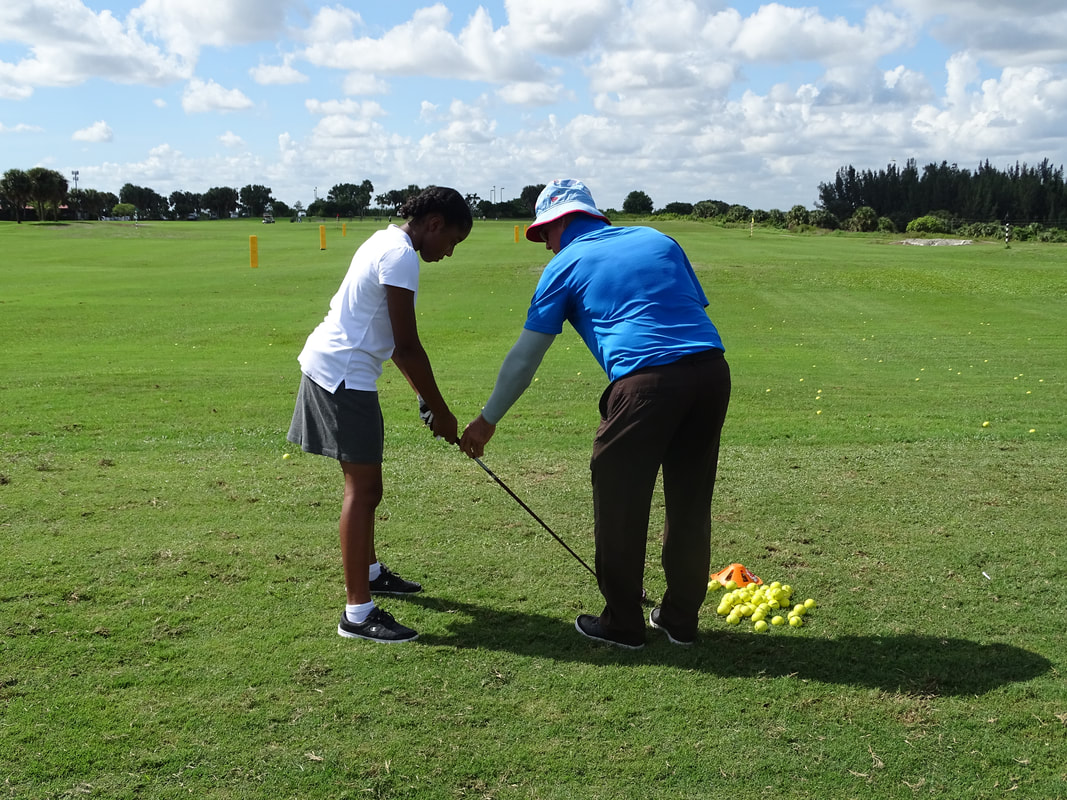 Glen Beaver Golf Lessons at Okeeheelee