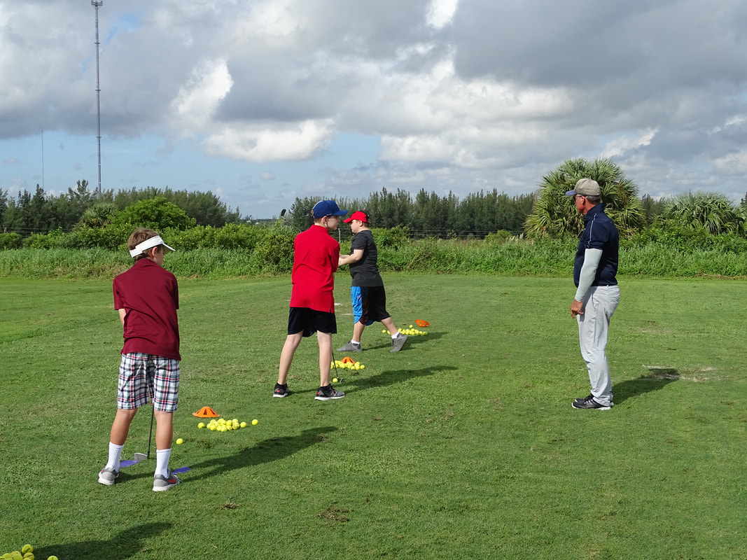 Glen Beaver provides Homeschool Golf lessons