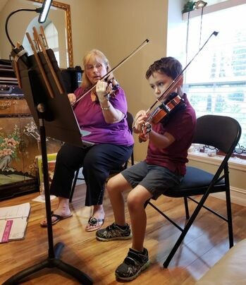 Karen LaFrance Violin Instructor Homeschool Palm Beach
