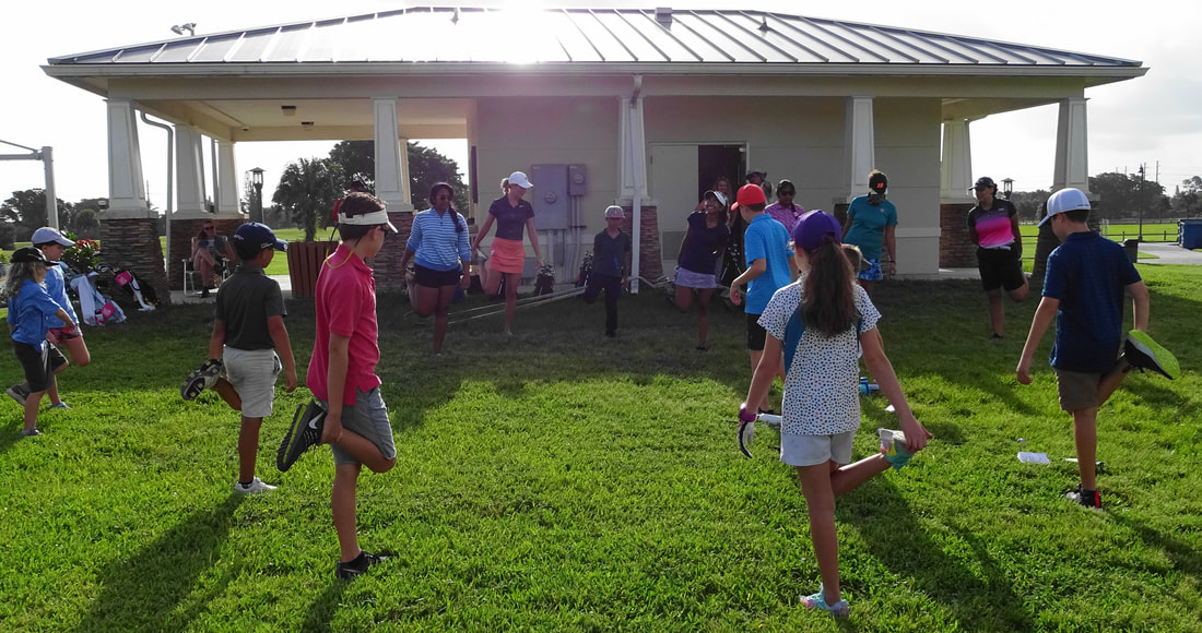 Homeschool Group Golf with Glen Beaver in Palm Beach County